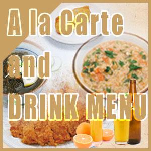 A la Carte and DRINK
