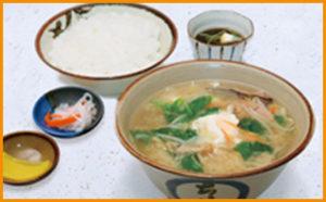 沖縄風みそ汁定食