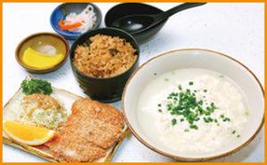 ゆし豆腐・トンカツ定食