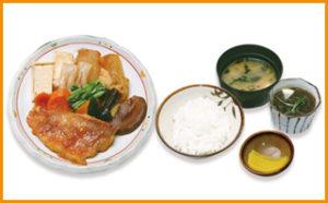 魚煮付定食(大)